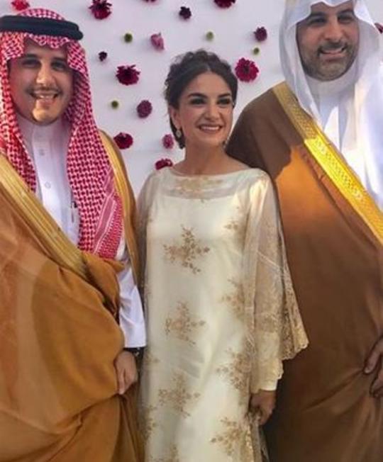 زفاف الأميرة نور بنت عاصم وسط أجواء أسطورية مجلة سيدتي