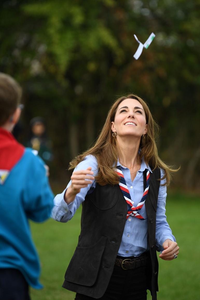 تتحدث كيت ميدلتون باستمرار عن حبها للهواء الطلق والرحلات الكشفية